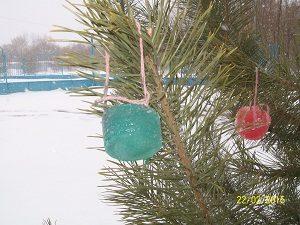 игрушки из льда