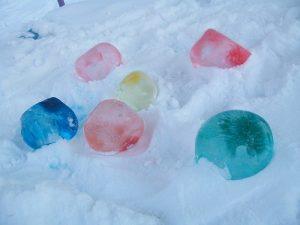 шарики из льда