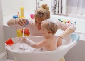 игры во время купания, развивающие игры в ванной