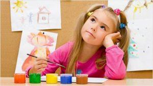 ребенок занимается в садике школе