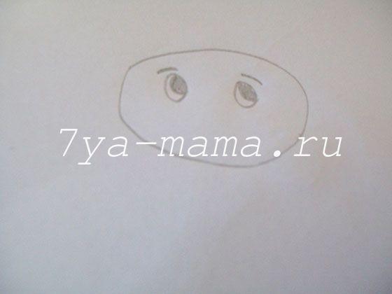 как нарисовать щенка поэтапно карандашом для детей