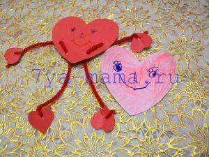 валентинка-для-детей-из-бумаги-своими-руками