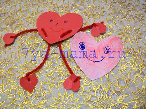 Делаем валентинки из бумаги своими руками 79