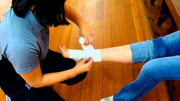 Что делать, если проколол ногу гвоздем (3)