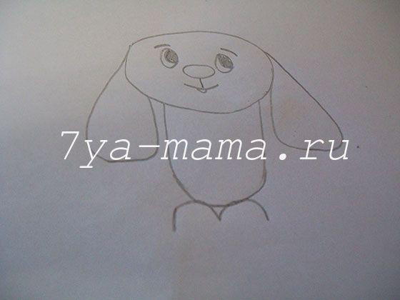 Как с детьми нарисовать жирафа карандашом поэтапно для детей