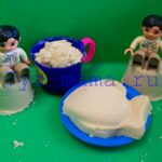 19 развивающих игр с кинетическим песком
