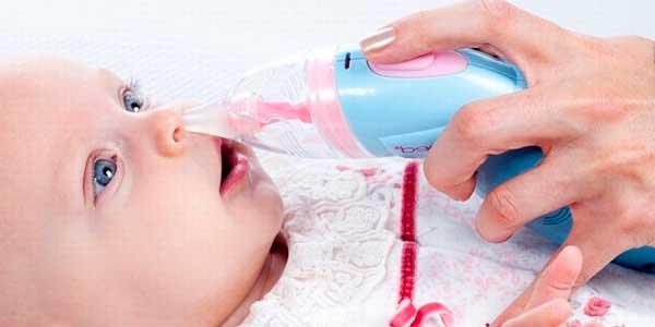 как почистить носик новорожденного