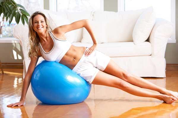 фитбол-тренажер-для-похудения