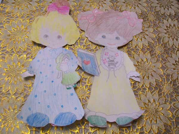 Кукла с одеждой для вырезания (1)