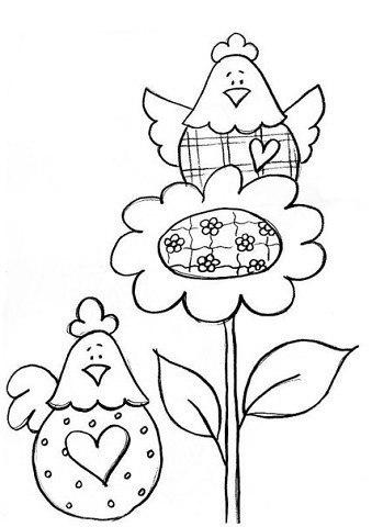 пасхальные раскраски для детей (3)