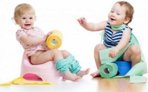 как приучить ребенка к горшку после памперсов