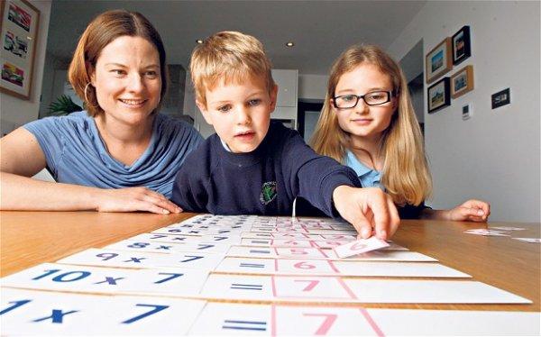 как выучить таблицу умножения ребенку быстро