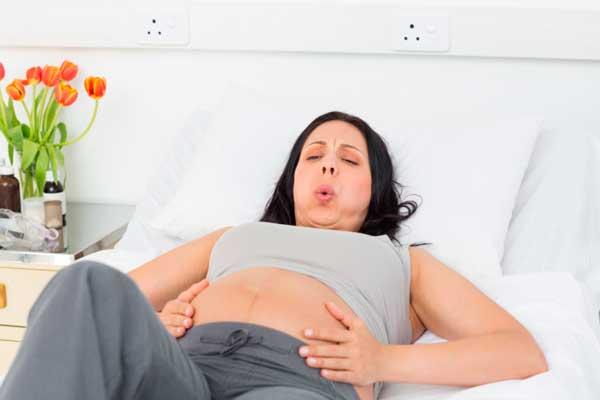 Схватки-у-беременной