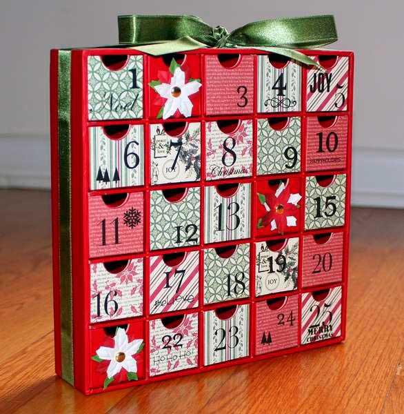 Адвент-календарь своими руками как сделать