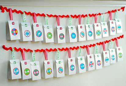 адвент-календарь для детей своими руками (4)