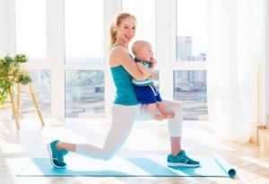через сколько после родов можно заниматься спортом