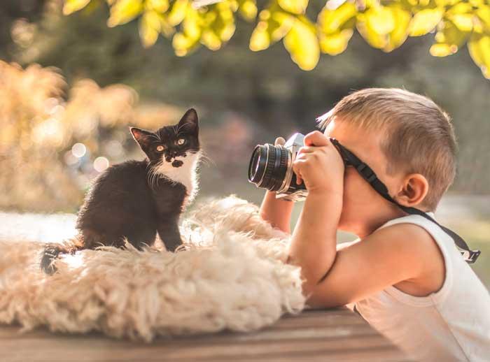 ребенок-фотографирует