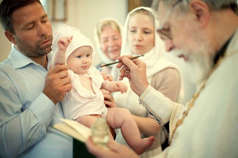 Обряд символизирует очищение человека от первородного греха и переход его под покровительство господа и всех святых.