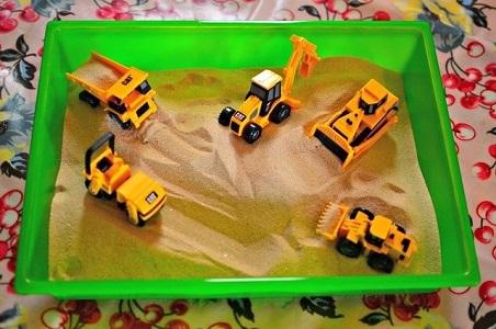 игры в песочнице дома