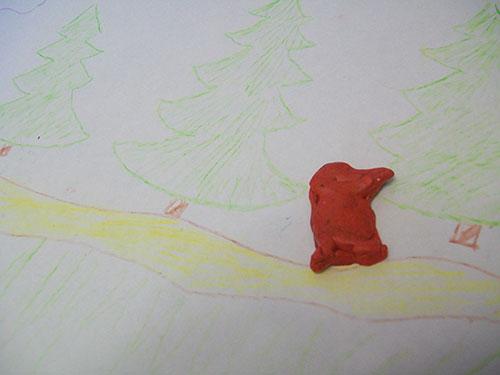 Поделка колобок своими руками из пластилина