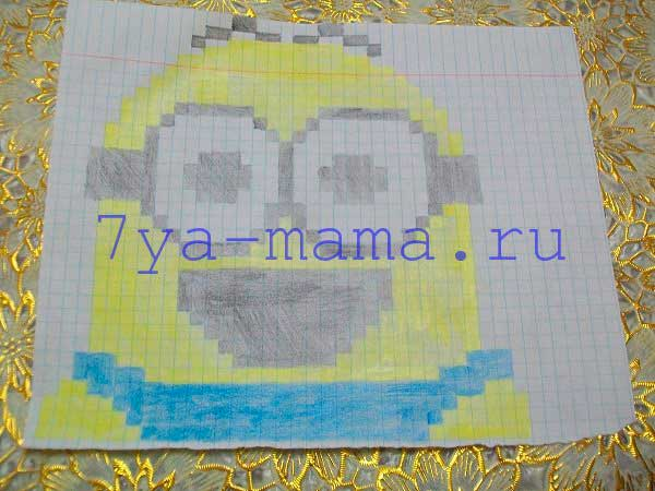 kak_narisovat_minona_po_kletkam_5