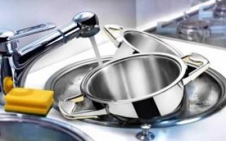 Как почистить кастрюлю из нержавеющей стали