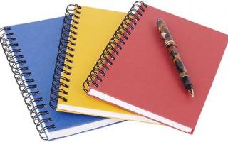 Идейник— блокнот для записи мыслей