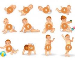 Что должен уметь ребенок с рождения до 1 года