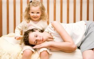 Экспресс-методы как снять усталость молодой маме