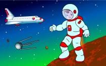 Стихи на День Космонавтики 12 апреля для детей