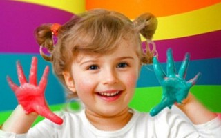 Любимые цвета и характер ребенка