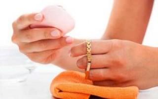 Как и чем почистить золото в домашних условиях быстро и эффективно