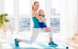 Когда после родов можно заниматься спортом?