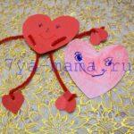 10 идей валентинки своими руками для детей (из бумаги)