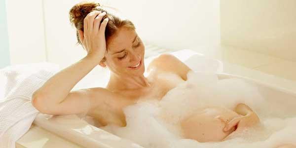 принятие ванны во время беременности