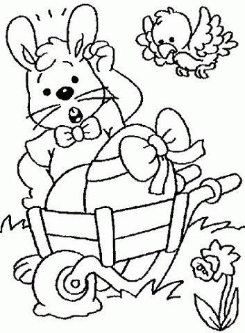 пасхальные раскраски для детей (1)