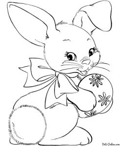 пасхальные раскраски для детей (7)