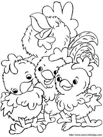пасхальные раскраски для детей (9)