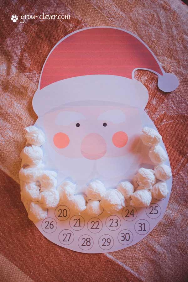 адвент-календарь для детей своими руками (6)