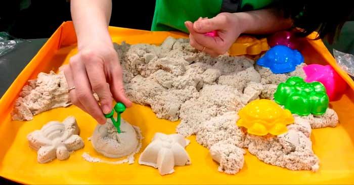 кинетический-песок